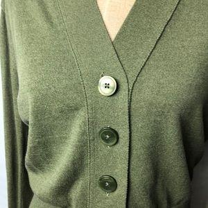 J. Crew Sweaters - J.Crew banded bottom cardigan sweater